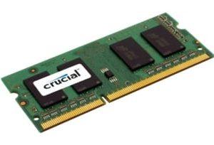 Оперативная память для ноутбука SODIMM DDR3L 8Gb 1600MHz pc-12600 1.35/1.5V Micron Crucial CT8G3S160BMCEU