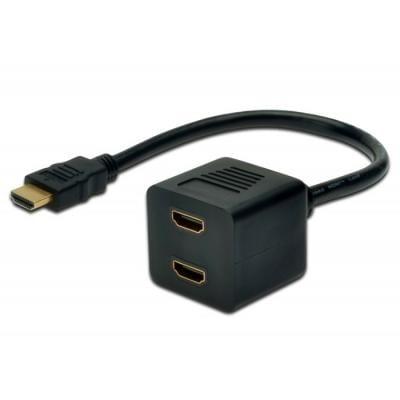 Разветвитель HDMI Digitus AK-330400-002-S