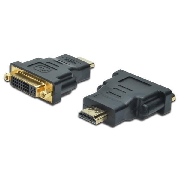 Кабель мультимедийный HDMI to DVI-I(24+5) DIGITUS (AK-330505-000-S)