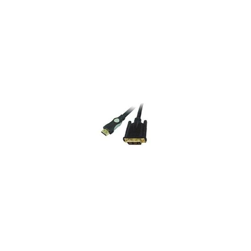 Кабель мультимедийный HDMI to DVI 18+1pin M, 3.0m Viewcon (VD 066-3м.)