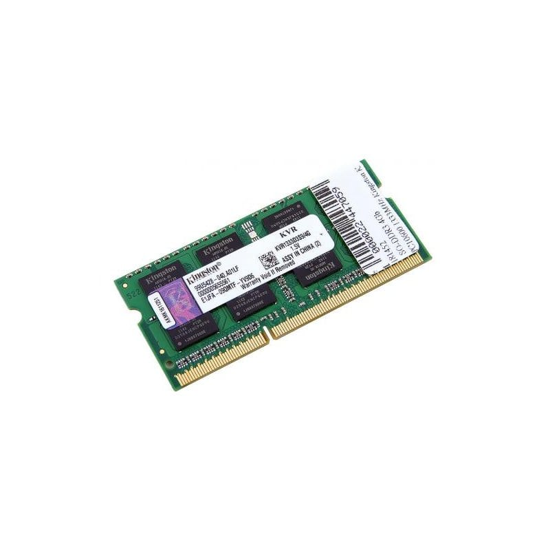 Оперативная память для ноутбука SODIMM DDR3 4Gb 1333 MHz Kingston (KVR1333D3S9/4G)