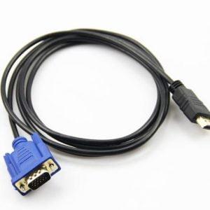 Кабель HDMI-VGA 1.8м, черный, XC1203