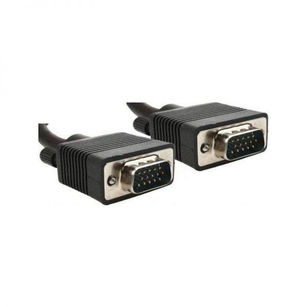 Кабель мультимедийный VGA 5.0m Cablexpert (CC-PPVGA-5M-B)