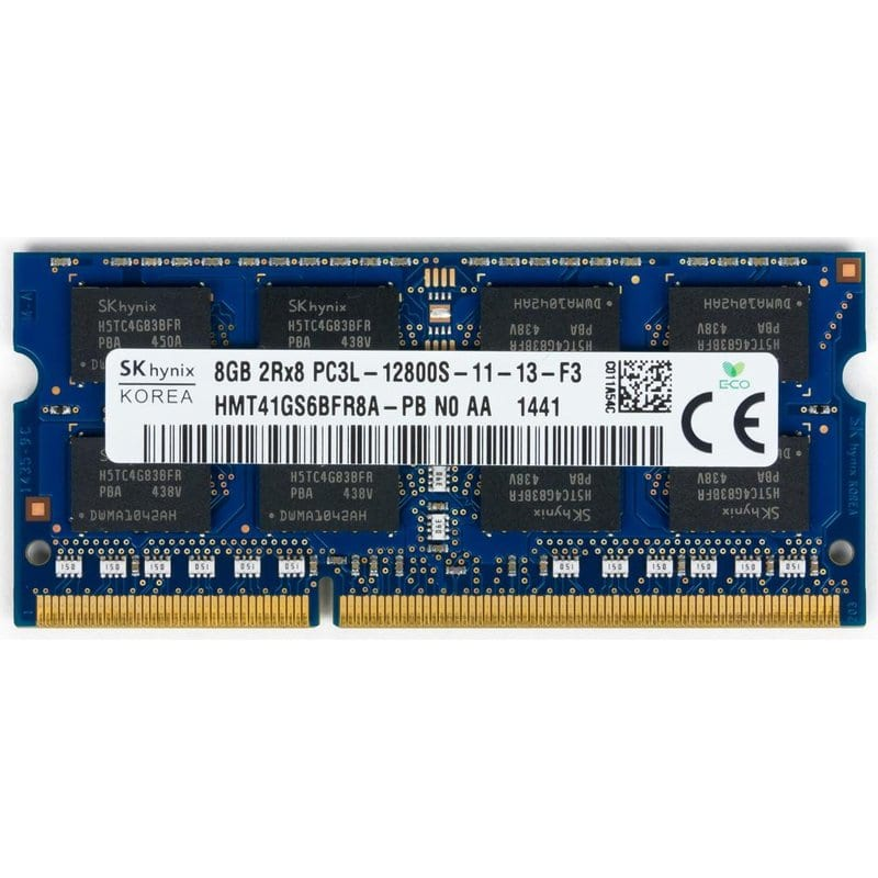 Модуль памяти для ноутбука SoDIMM DDR3 8GB 1600 MHz Hynix (HMT41GS6BFR8A-PBN0)