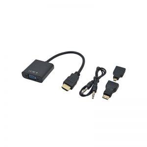 Переходник-конвертер HDMI-Micro, HDMI-Mini to VGA, Tishric TSR021