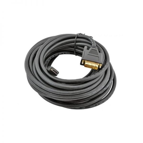 Кабель мультимедійний HDMI to DVI 18+1pin M, 7.5m Cablexpert (CC-HDMI-DVI-7.5MC) HDMI (Type A), DVI-