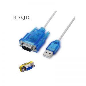 Кабель USB-COM(RS232) 9 pin, + переходник (F)-(F) 9 pin