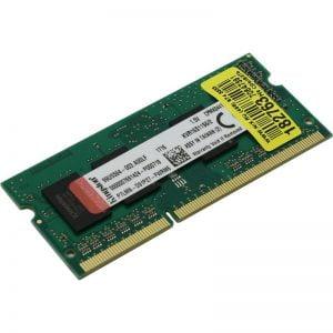 Оперативная память для ноутбука SODIMM DDR3 2Gb 1600 MHz Kingston (KVR16S11S6/2)