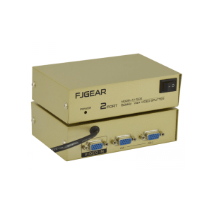 Активный разветвитель-сплиттер VGA сигнала KV-FJ1502A 150MHz 2 Port, DC5V/2A