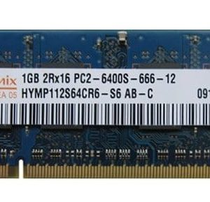 Оперативная память для ноутбука SODIMM DDR2 1GB 800 MHz Hynix HYMP112S64CR6-S6