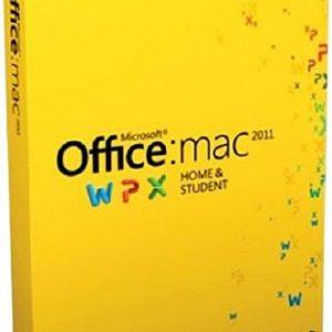 Microsoft Office Mac Home Student 2011 Русский (коробочная версия) (GZA-00310)