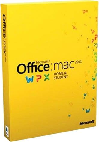 Microsoft Office Mac Home Student 2011 Русский (коробочная версия) (GZA-00310) 1