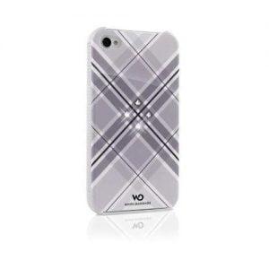 Чехол для мобильного телефона White Diamonds Grid White for iPhone 4/4S