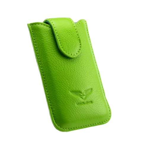 Чехол для iPhone 4/4S MacLove Genuine Leather Case Baron Green (ML25568) 1
