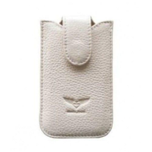 Чехол для iPhone 4/4S MacLove Genuine Leather Case Baron White (ML25562) 1