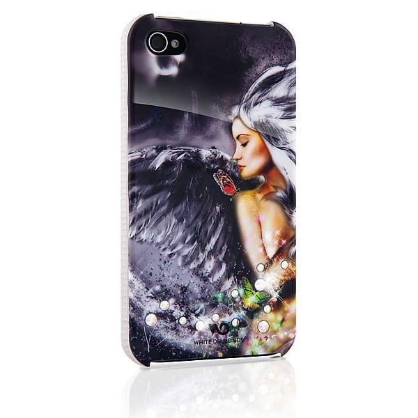 Чехол для мобильного телефона White Diamonds Angel Chrome for iPhone 4/4S