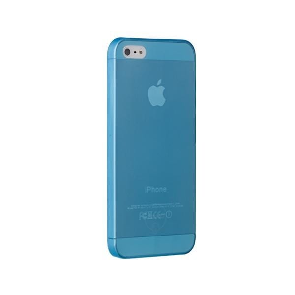Чехол для моб. телефона OZAKI iPhone 5/5S O!coat 0.3 JELLY/Blue (OC533BU)