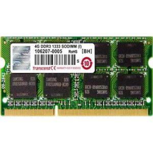 Оперативная память Transcend 4 GB SO-DIMM DDR3 1333 MHz (TS512MSK64V3N)