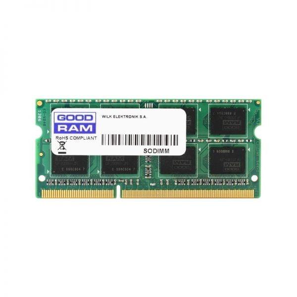 Оперативная память для ноутбука SODIMM DDR3 2Gb 1600 MHz GOODRAM (GR1600S3V64L11/2G) 1