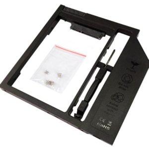 Адаптер для ноутбука optibay HDD CADDY 9.5 mm HDS9001-SS (black)