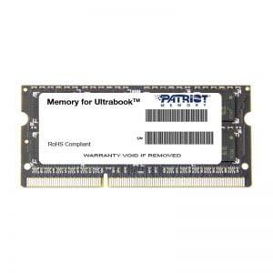 SoDIMM DDR3L 8GB 1600 MHz Patriot (PSD38G1600L2S)