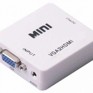 Переходник-конвертер VGA To HDMI 1080P Audio AM030A01-P1