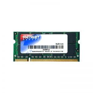 Оперативная память для ноутбука SODIMM DDR2 2Gb 800 MHz Patriot (PSD22G8002S)