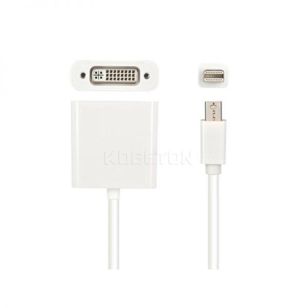 Переходник Mini DisplayPort to DVI для MacBook/Pro/Air, SKU015225 2