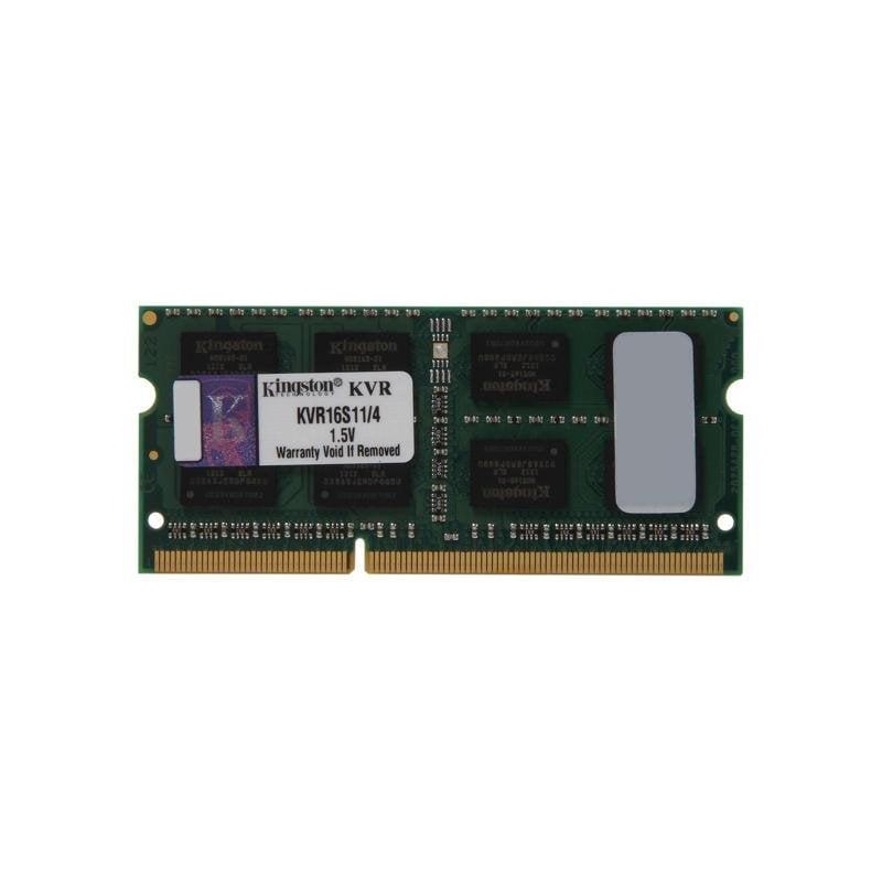 DDR3-SODIMM 4096Mb DDR3 (1600Mhz) pc-12800 Kingston (KVR16S11/4)