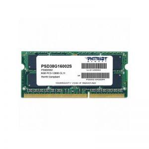 Модуль памяти для ноутбука SoDIMM 8GB 1600 MHz Patriot (PSD38G16002S)