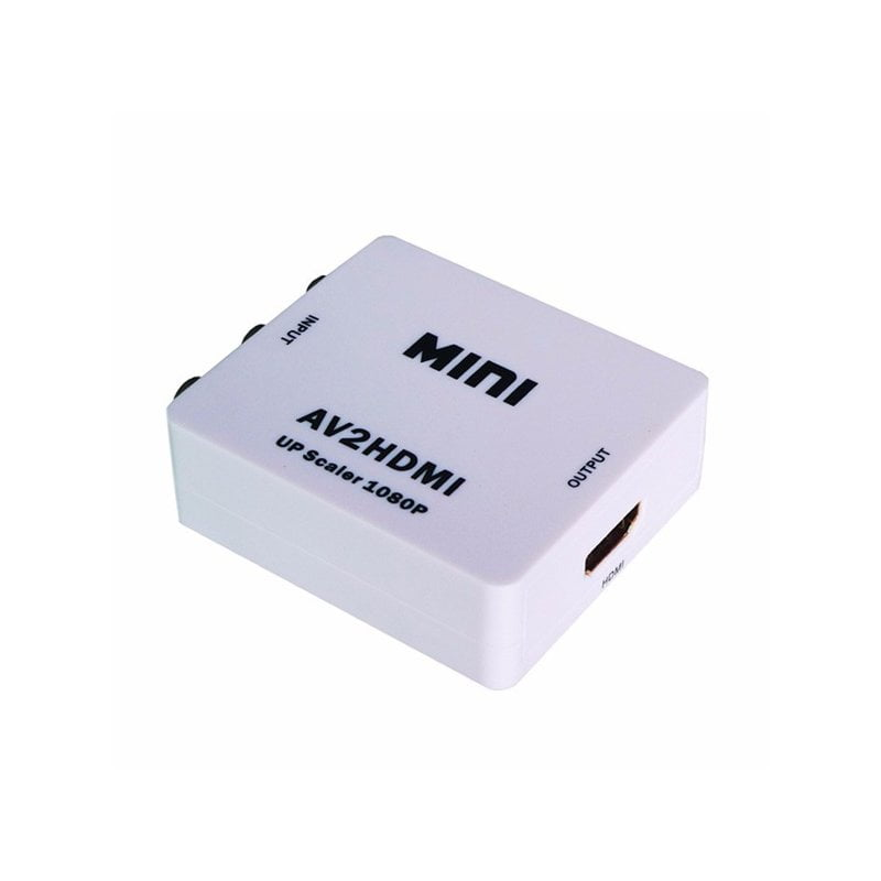 Конвертер RCA (тюльпан) в HDMI av2hdmi upscaler, FullHD