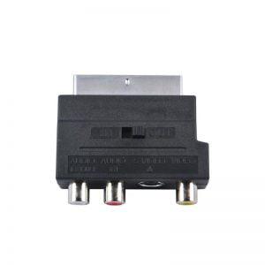 Переходник SCART to RCA, S-Video с переключателем