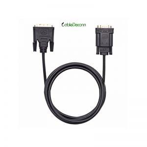 Кабель активный DVI-D to VGA CableDeconn