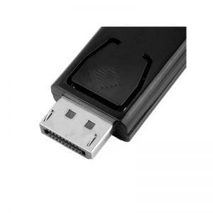 Переходник Displayport (M) to HDMI (F), брелок, ZB03700