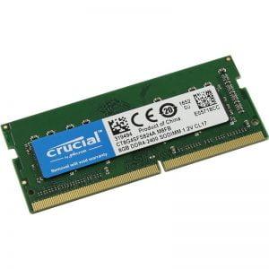 Оперативная память для ноутбука SODIMM DDR4 8Gb 2400 MHz MICRON (CT8G4SFS824A)