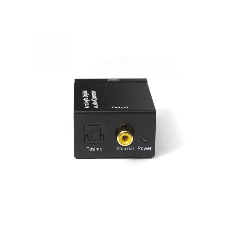 Переходник аудио оптика/коаксиал на тюльпаны 2*RCA, питание USB, TC51800