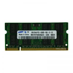 Оперативная память для ноутбука SODIMM DDR2 2Gb 667MHz Samsung M470T5663QZ3-CE6