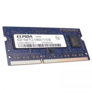 Память для ноутбука 4GB DDR3 SO-DIMM 1600 (PC3 12800) 1.5V Elpida EBJ40UG8BBU0-GN-F