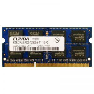 Оперативная память для ноутбука 8Gb SO-DIMM DDR3 1600 MHz 1.5V Elpida EBJ81UG8BBU0-GN-F