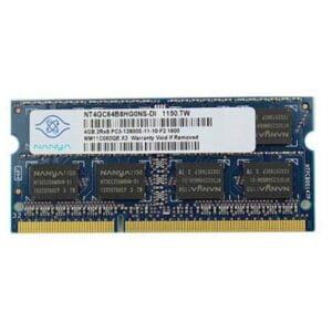 Оперативная память для ноутбука SODIMM DDR3 4GB 1600 MHz PC3-12800 1.5V Nanya NT4GC64B8HG0NS-DI