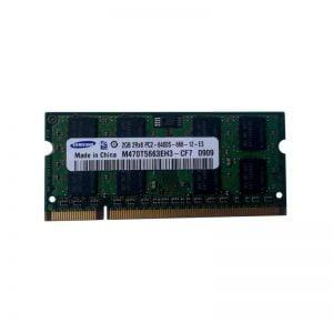 Оперативная память для ноутбука SODIMM DDR2 2GB 800MHz Samsung M470T5663EH3-CF7