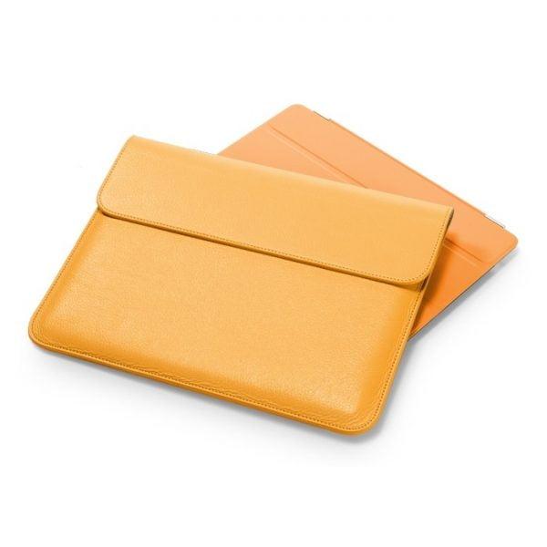 Чехол-конверт для iPad SGP Leather Case ( illuzion Sleeve Series) Solaris Orange (SGP07632)