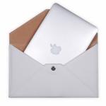 Чехол для ноутбука Dublon Leatherworks Genesis MacBook Air 13″ White Pearl 1