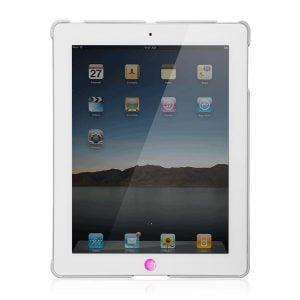 Чехол-накладка на заднюю панель для iPad More Granite Hard Case White (AP15-007WHT)