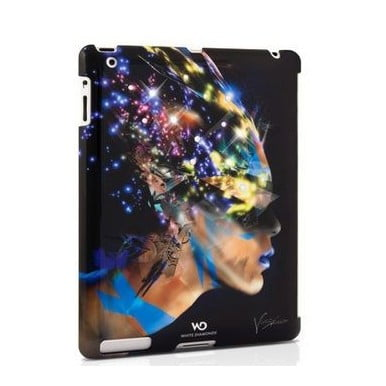 Чехол-накладка на заднюю панель для iPad с кристаллами White Diamonds Nafrotiti Black (1150NAF6)