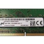 SODIMM 8Gb DDR4-2666 1Rx8 Micron MTA8ATF1G64HZ-2G6E1