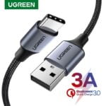 kabel-sinkhronizatsii-type-c-ugreen-us288-qc3.0-black-tpe-3a-0.25m-94598834652413